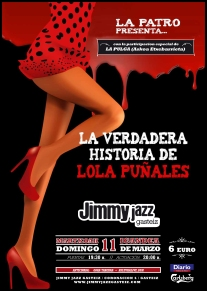 Cartel JJ Lola Puñales feb 12