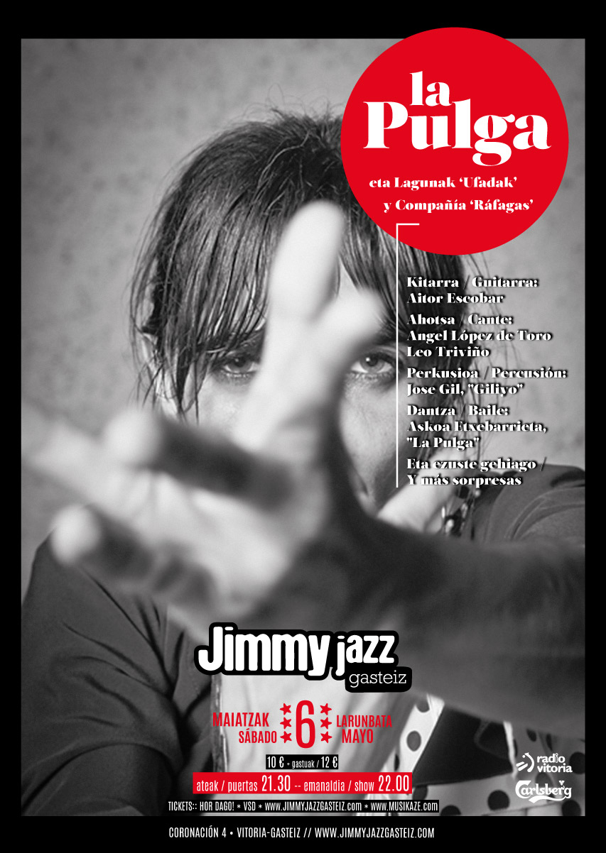 cartel Jimmy Jazz Mayo 2017